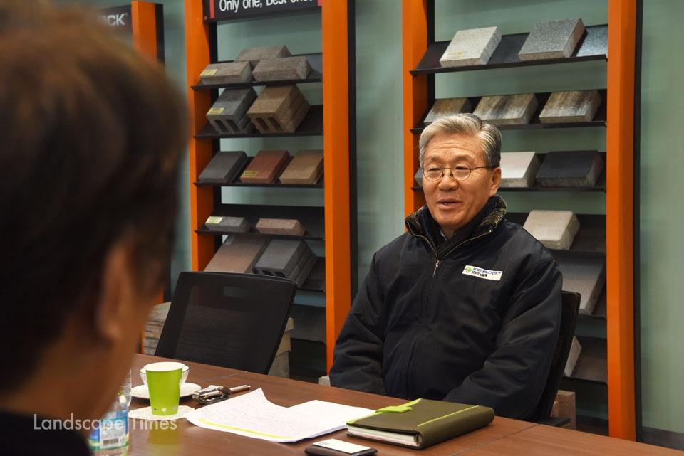 한용택 (주)이노블록 대표이사 ©김진수 기자